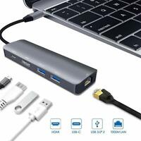 Type C Docking Station Type C HUB USB C to 4K HDMI USB 3.0 for Macbook Pro/Air
