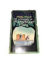 Vintage Mark Twain The Adventures Of Huckleberry Finn - 1959