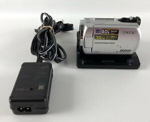 Sony Handycam DCR-SR42 30GB HDD Video Camera Camcorder 40x NO BATTERY