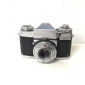 Vintage Zeiss Ikon Contaflex Film Camera w. Tessar 1:2.8 f=45mm Lens #568