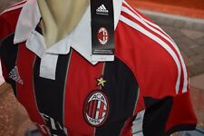 AC MILAN Shirt Home 2012-2013 sz Small with Vynil (New), Last Stock!!!