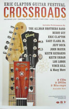ERIC CLAPTON 2013 crossroads guitar festival poster Flawless New Old Stock