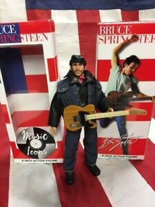 """BRUCE SPRINGSTEEN 8"""" Mego Action Figure Doll-Rare Collectible Brand New Born USA"""