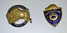 Curling Pin - Manitoba Curling Association - 1914 D.R. DINGWALL LTD