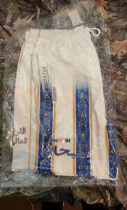 Supreme Arabic Logo Soccer Shorts Size Large White SS21 Supreme New York 2021 DS