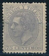 Spain - Mailing Year: 1882 - Number 00212 - Alfonso XII / Ebay Small Defect