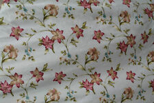 Dunelm Cotton Blend Floral Curtains & Pelmets