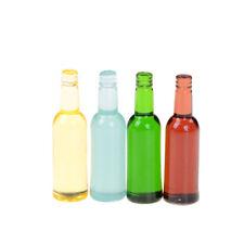 9pcs Dollhouse Miniature Food Dolls Getränke Küchenzubehör Mini Wine Bottles