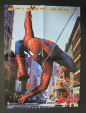 2004 HC SPIDER-MAN 2 THE GAME + CATWOMAN double-sided Spanish poster
