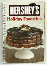 Hershey's Holiday Favorites Cookbook Spiral bound Cakes Bars Pies Candies ++