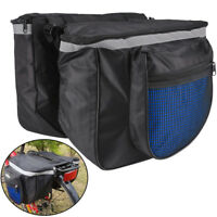 Practical Fuctional Outdoor Bike Bicycle Cycling Rear Seat Double Panniers Bag