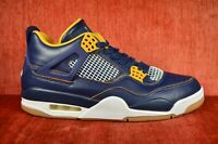 WORN TWICE Men's Nike Air Jordan 4 Retro Dunk From Above 308497-425 Size 10 Blue