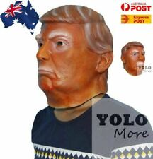 Donald Trump USA President Mask Party Cosplay Politician Halloween Costume Latex