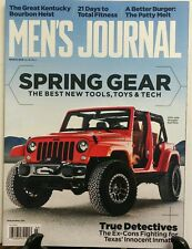 Men's Journal March 2016 Spring Gear Tools Toys Jeep Wrangler FREE SHIPPING sb