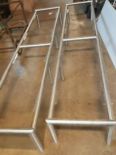 "96"" x 24"" Heavy Duty Commercial Sneeze Guard Chrome * 1 Frame Only"