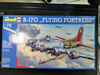 """B-17, G, """"Flying Fortress"""", Revell, Scale:1/72, Kit:04283"""