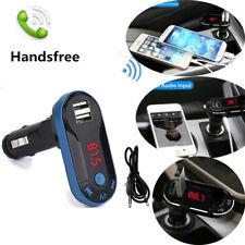 1set Car Bluetooth Wireless FM Transmitter MP3 Player Handsfree USB Remote