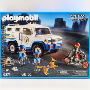 PLAYMOBIL 9371 City Geldtransporter NEU/OVP