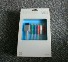 Nintendo Wii Official Component Video Cable OEM Original BRAND NEW SEALED RARE