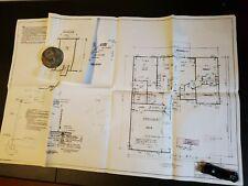 Blueprint House Plan  2-story Vintage