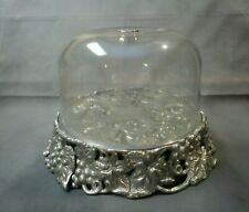New ListingArthur Court: Cake Tray/Plate/Stand with Acrylic Dome- Nice !