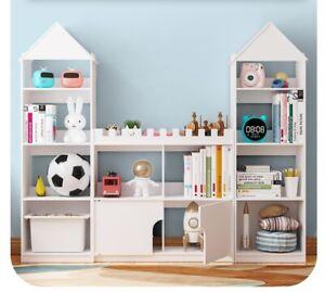 DIY Kids Book Organizer Castle Book Shleves Book Storage Book Stand