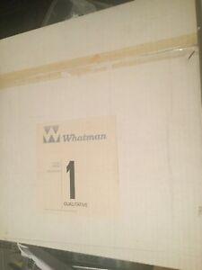Whatman Qualitative Filter Paper Grade 1 Sealed 2 boxes 200 circles 320mm dia