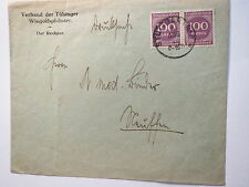 Tübingen - Wingolf - Verband der Tübinger Wingolfphilister / Briefumschlag