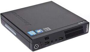 Lenovo Think Centre M92PTiny Desktop PC Intel i5-3470T 16GB RAM 512 SSD SSD WiFi