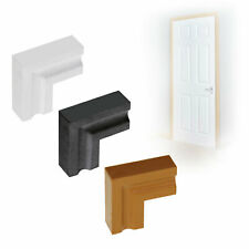 Chamfered Corner Connector Door Architrave UPVC Roomline Plastic Mitre Joint