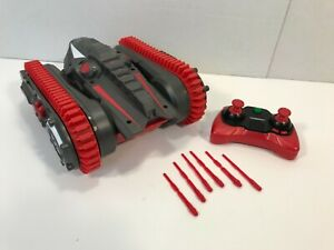 Air Hogs Robo Trax Tank Transforming Robot Remote & Missiles NO Charging Cable