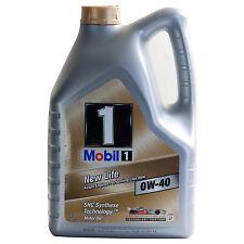 Mobil 1 NEW LIFE 0W-40 5 litri Mobil 1 FS 0W-40 Olio motore sintetic equivalente