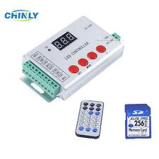 DC5-24V WS2811 WS2812B WS2813 APA102 LED pixel strip controller, control 6144 IC