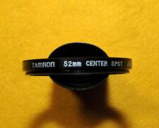 FILTER FILTRO TAMRON 52mm CENTER SPOT OBIETTIVI RARE NUOVO NIKON CANON CONTAX