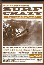 BRUCE BROWN Surf Riding Adventure Film SURF CRAZY DVD