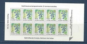 FINLAND - 844 - COMP BKLET - S/A - 1998 - FLOWERS - HAREBELL