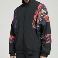 Adidas Festivo Track Jacket (Men's Size L) Full Zip Coat Black