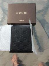 Gucci wallet men's bifold black