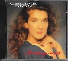 CELINE DION - Des mots qui sonnent CD Album 12TR Europe 1991 (COLUMBIA)