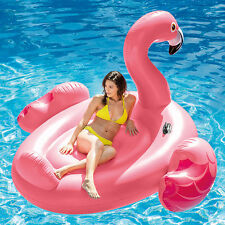 "Intex 86"" Mega Flamingo Floating Island Swimming Pool Inflatable Float"