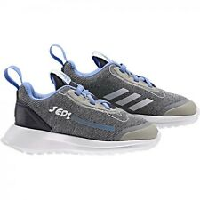 new adidas Kids RapidaRun STAR WARS Shoes toddler boy sz 8K eur 25 gray sneakers
