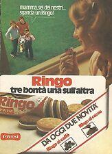 X0464 Ringo al caffè - Pavesi - Pubblicità 1980 - Vintage advertising