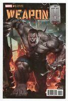 Weapon H #1 Skan TRADE Variant WOLVERINE Hulk CAMEO of DR STRANGE * GEMINI SHIP