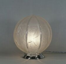 HANOTS : a French 1930 ART DECO LAMP  ........ muller degué daum era France 1925