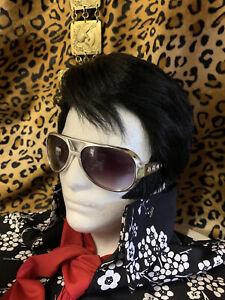 "70's ELVIS WIG- ""The Madison"" tribute hair - ETA WIGS, Memphis - LAST ONE!"