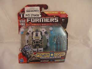 Transformers Power Core Combiners Icepick and chainclaw Action Figures