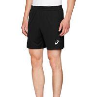 """Asics Mens Running Exercise Fitness Training 7"""" Short Black - S"""