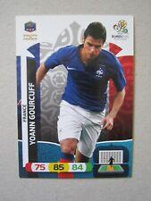 Panini Euro 2012 base cards - France set of 12 incl. Benzema & Gourcuff