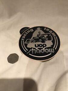 1970s Racing Team Uop Shadow Vintage Stickers Original