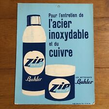 Antique Carton Advertising Cleaners Buhler Zip Stainless Plv Maintenance